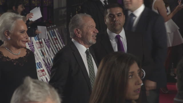 alan sugar at pride of britain awards 2017 at excel on october 30 2017 in london england - alan sugar stock videos and b-roll footage