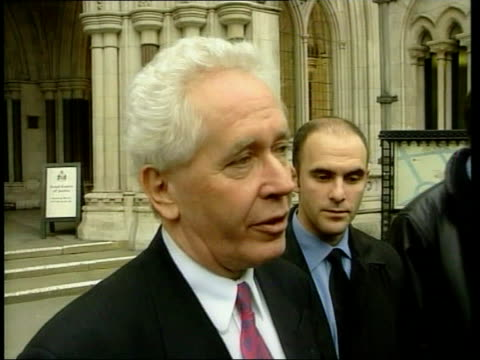 london ext jeff powell press conference sot at some point we have to take a stand whatever our expectations may be we cannot keep caving in to anyone... - alan sugar stock videos and b-roll footage