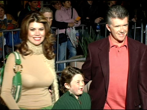 alan thicke and family at the 'mary poppins' 40th anniversary and launch of the special edition dvd arrivals at the el capitan theatre in hollywood,... - el capitan theatre stock videos & royalty-free footage