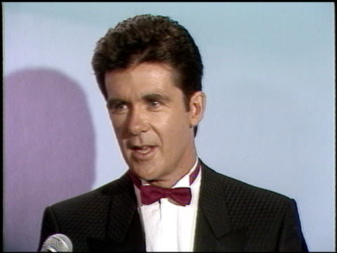 Alan Thicke at the 1987 Emmy Awards Inside at the Pasadena Civic Auditorium in Pasadena California on September 20 1987