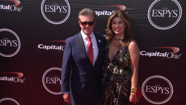 alan thicke at the 2015 espys at microsoft theater on july 15 2015 in los angeles california - microsoft theater los angeles stock videos and b-roll footage
