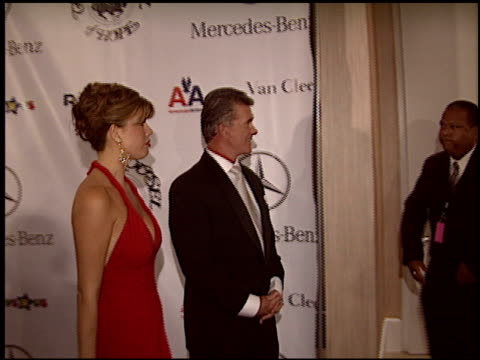alan thicke at the carousel of hope gala at the beverly hilton in beverly hills california on october 23 2004 - carousel of hope stock videos and b-roll footage