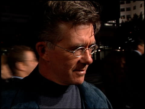 alan thicke at the 'family man' premiere at grauman's chinese theatre in hollywood california on december 12 2000 - the family man film title stock videos & royalty-free footage