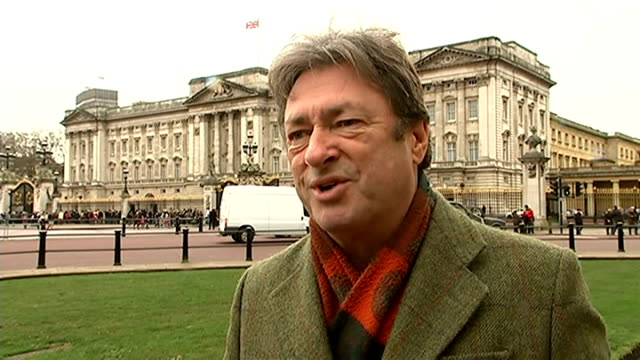alan titchmarsh interview on buckingham palace gardens documentary alan titchmarsh interview sot - alan titchmarsh stock-videos und b-roll-filmmaterial