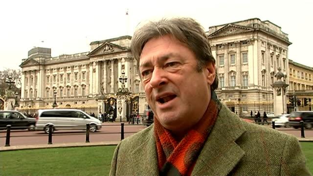 alan titchmarsh interview on buckingham palace gardens documentary; alan titchmarsh interview sot - alan titchmarsh stock videos & royalty-free footage