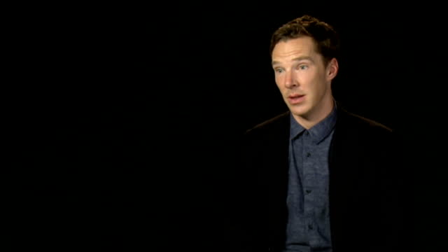 Alan Turing's family back petition for 49000 gay men R08101422 / INT Benedict Cumberbatch interview SOT