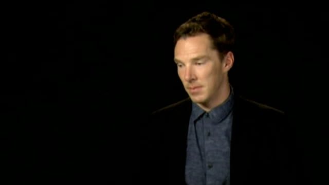 alan turing's family present petition to prime minister; r08101422 / london: benedict cumberbatch interview sot - benedict cumberbatch stock videos & royalty-free footage