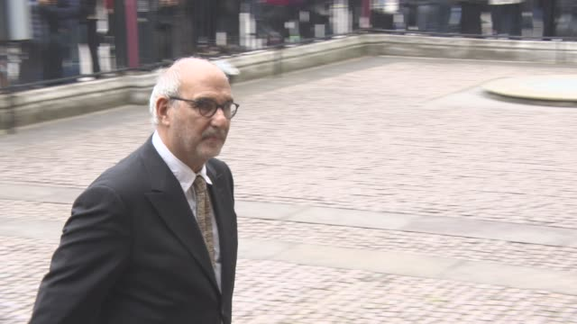 alan yentob at a service of thanksgiving for the life and work of sir terry wogan at westminster abbey on september 27 2016 in london england - terry wogan video stock e b–roll