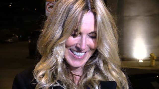 alana stewart at craigs in west hollywood in celebrity sightings in los angeles, - alana stewart stock videos & royalty-free footage