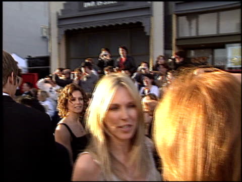 alana stewart at the abc's 50th anniversary celebration at pantages in hollywood, california on march 16, 2003. - alana stewart stock videos & royalty-free footage