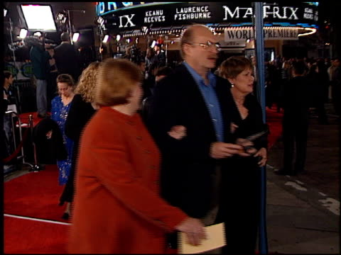 alana stewart at the premiere of 'the matrix' at the bruin theatre in westwood, california on march 24, 1999. - alana stewart stock videos & royalty-free footage