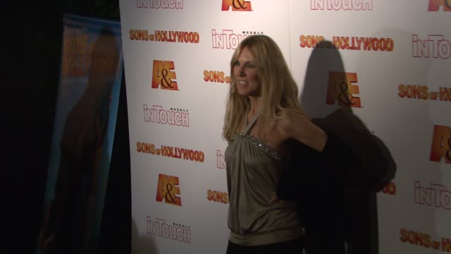 alana stewart at the 'sons of hollywood' premiere launch party at les deux in los angeles california on march 29 2007 - les deux club stock videos & royalty-free footage