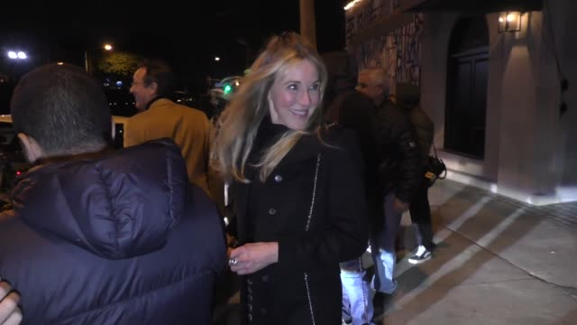 vídeos y material grabado en eventos de stock de interview alana stewart comments on the iowa caucus after her dinner with joan collins at craig's restaurant in west hollywood in celebrity sightings... - hollywood california