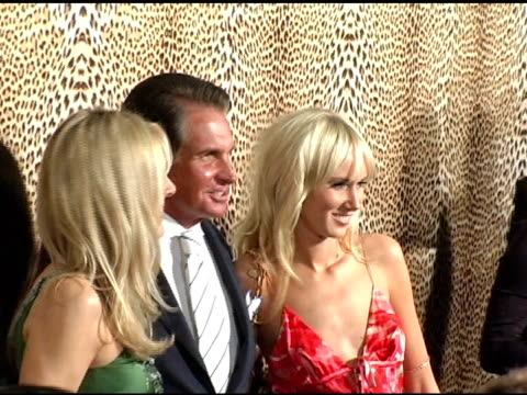 alana stewart, george hamilton and kimberly stewart at the unveiling of roberto cavalli's beverly hills location at roberto cavalli boutique in los... - alana stewart stock videos & royalty-free footage