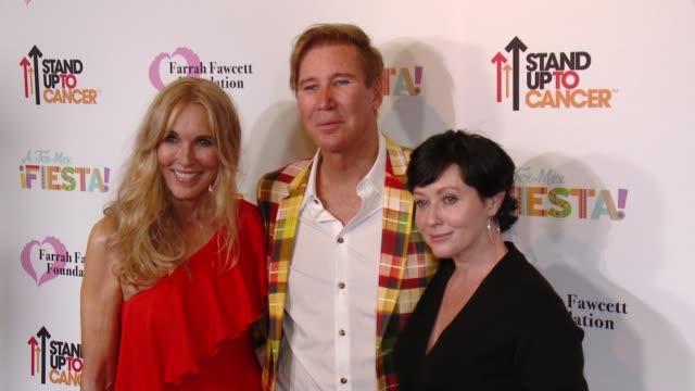 "Alana Stewart Lawrence D Piro Shannen Doherty at Farrah Fawcett Foundation's ""TexMex Fiesta"" 2017 in Los Angeles CA"