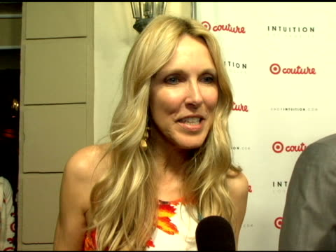 alana stewart on target at the launch the target couture collection by intuition founder jaye hersh at social hollywood in hollywood california on... - jaye hersh stock videos and b-roll footage