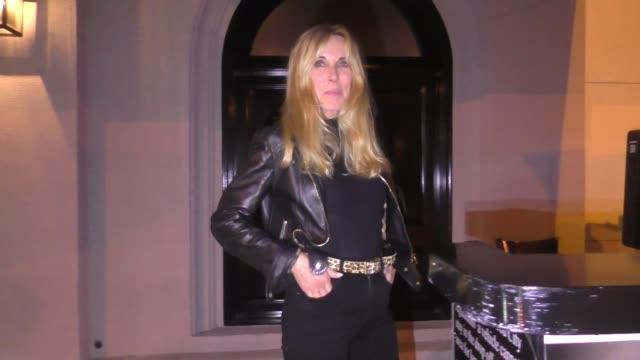 alana stewart says nancy pelosi is her least favorite person outside craig's restaurant in west hollywood in celebrity sightings in los angeles, - alana stewart stock videos & royalty-free footage