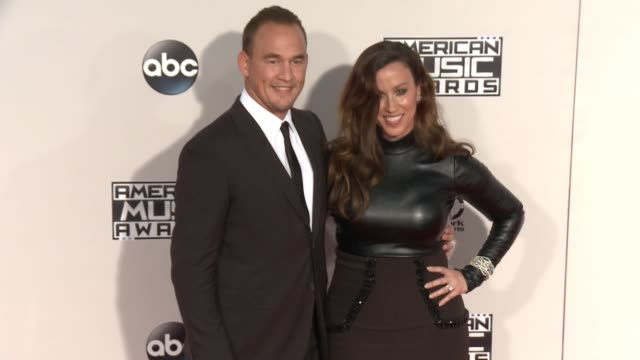 Alanis Morissette at 2015 American Music Awards Arrivals in Los Angeles CA