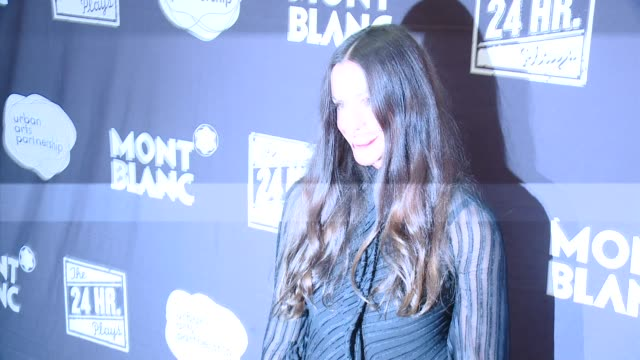 Alanis Morissette at Montblanc Presents The 4th Annual Production Of The 24 Hour Plays In Los Angeles To Benefit Urban Arts Partnership in Los...