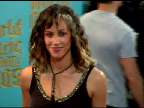 Alanis Morissette at the 2005 World Music Awards arrivals at the Kodak Theatre in Hollywood California on September 1 2005