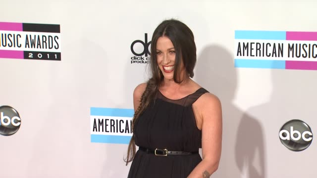 Alanis Morissette at the 2011 American Music Awards Arrivals at Los Angeles CA