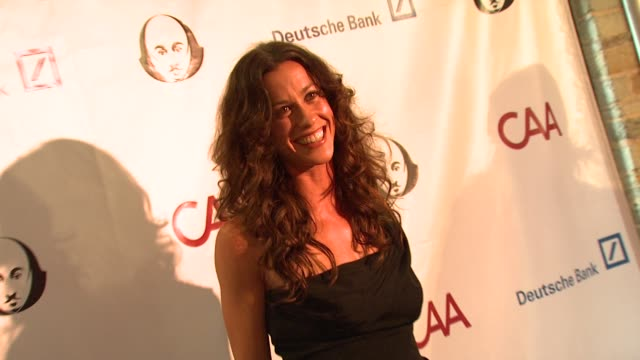 Alanis Morissette at the Simply Shakespeare 2009 'The Comedy of Errors' at Los Angeles CA