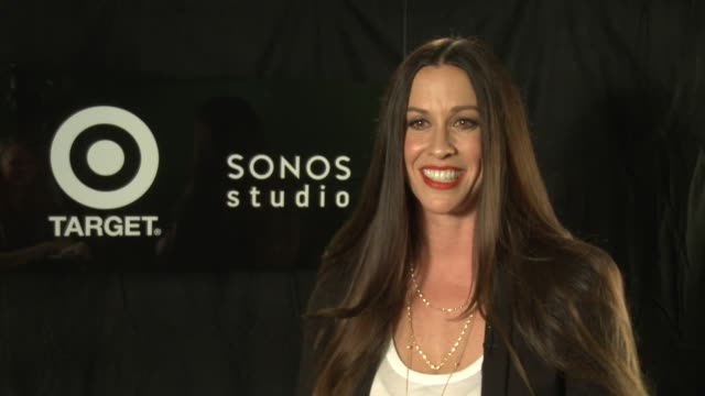 Alanis Morissette Havoc And Bright Lights Listening Party Hosted By Sonos And Target Los Angeles CA United States 8/20/12