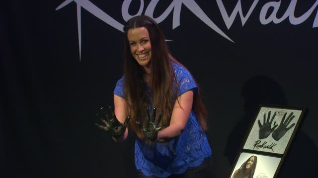 Alanis Morissette Inducted Into Guitar Center's Historic RockWalk of Fame EVENT CAPSULE CLEAN Alanis Morissette Inducted In at Guitar Center on...