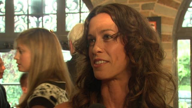 Alanis Morissette on how she got involved in the play how she will be singing and doing a little musically what she thinks about the organization and...