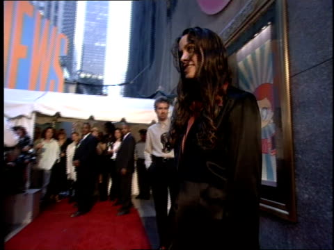 Alanis Morissette on the 1995 MTV MTV Video Music Awardss red carpet