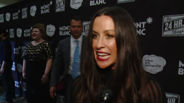 INTERVIEW Alanis Morissette on the most significant part of the process if she's more inclined towards acting or singing lately how motherhood has...