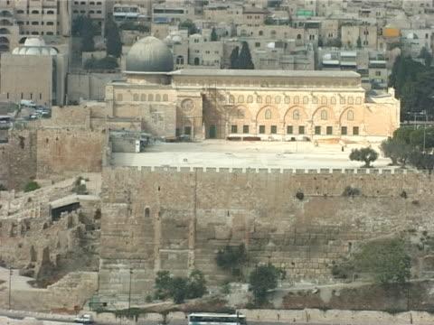 pal - al-aqsa mosque, jerusalem, israel - al aqsa mosque stock videos and b-roll footage