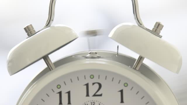 CU Alarm clock bell ringing