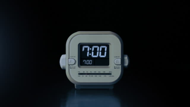 alarm clock going off - alarm clock stock videos & royalty-free footage