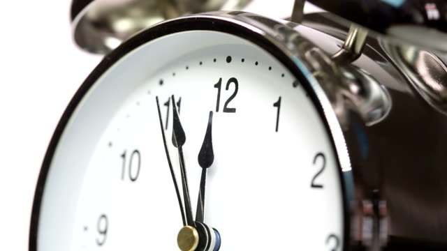 alarm clock - number 5 stock videos & royalty-free footage