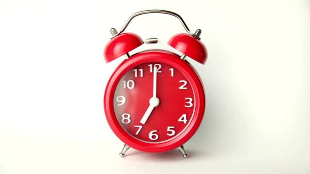 alarm clock - alarm clock stock videos & royalty-free footage