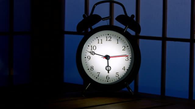 alarm clock - fire alarm stock videos & royalty-free footage