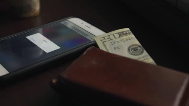 alarm clock - wallet stock videos & royalty-free footage