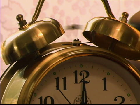 alarm clock - unknown gender stock videos & royalty-free footage