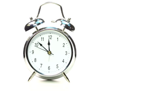 alarm clock with time lapse - number 5 stock videos & royalty-free footage