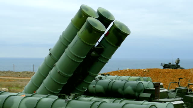 alarm reset for anti-aircraft missile system - missile stock videos & royalty-free footage
