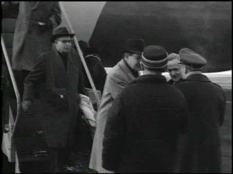[alaska earthquake damage] - 29 of 36 - anno 1964 video stock e b–roll