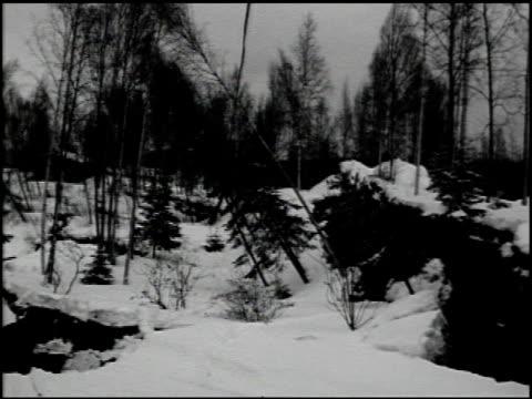 [alaska earthquake damage] - 33 of 36 - anno 1964 video stock e b–roll