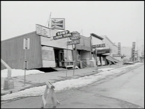 vidéos et rushes de [alaska earthquake damage] - 35 of 36 - 1964