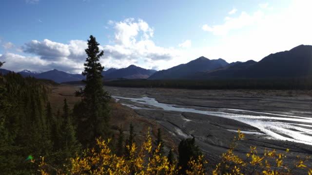 alaska landscape - denali national park stock videos & royalty-free footage