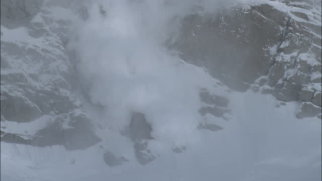 alaska mckinley - avalanche stock videos and b-roll footage
