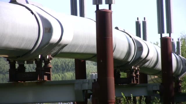 alaska pipeline 2 - pipeline stock videos and b-roll footage
