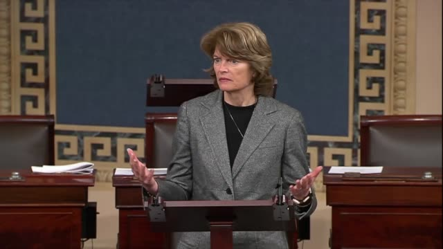 Alaska Senator Lisa Murkowski says as the Stop Enabling Sex Traffickers Act was set to pass that evidence was once anecdotal when FBI agents familiar...