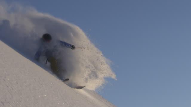 Alaska skiing powder