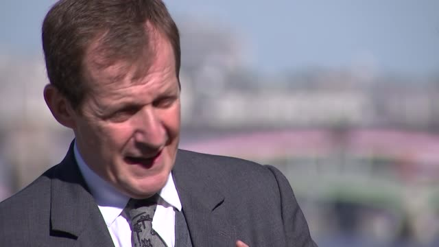 alastair campbell on his late brother's battle with schizophrenia alastair campbell interview sot - schizophrenia stock videos & royalty-free footage